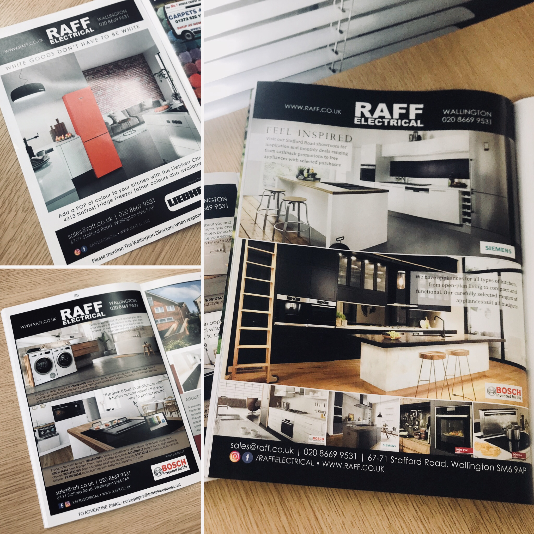 More Print Design for Raff Electrical